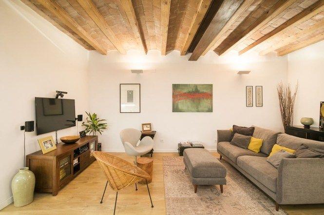 Piso Con Gran Terraza En El Eixample Barcelona Pisos