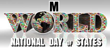 Heraldry of Life: M - NATIONAL DAY of the World