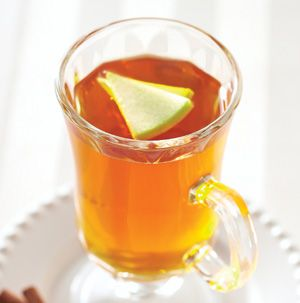 Keep lots of Spiced Warm Apple Cider on hand this fall. Simply follow the recipe, cool and refrigerate in a pitcher with a tightly fitting lid. Pour into a mug and heat in the microwave whenever you need something warm and comforting.