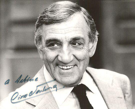 Angiolino Ventura, dit Lino Ventura, est un acteur né en Italie qui a réalisé l'ensemble de sa carrière cinématographique en France, né le 14 juillet 1919 à Parme (Italie) et mort le 22 octobre 1987 à Saint-Cloud (France).