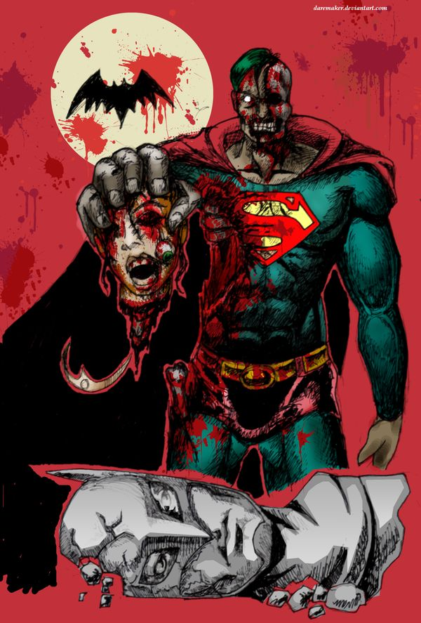 Zombie Batman Comic 62 best zombie Superma...
