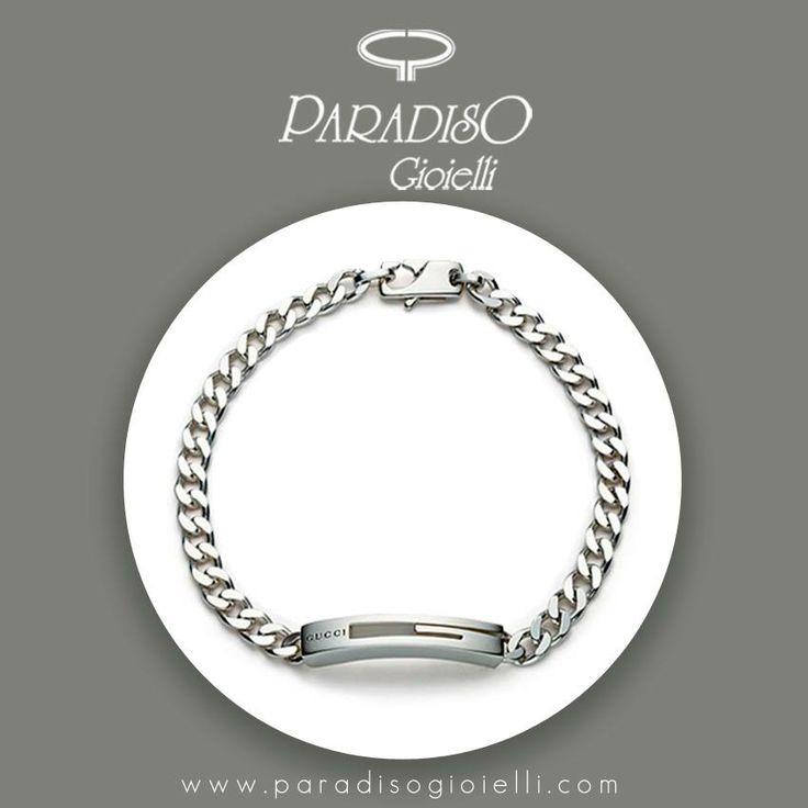 #Gucci #Branded #Bracciale #Uomo in #Argento!!! Lasciatevi tentare...