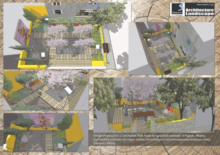 Pocket Park Design Public Spaces http://zoladecor.com/pocket-park-design-public-spaces