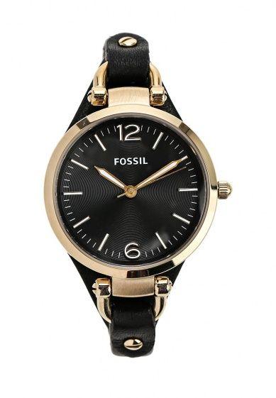 Часы Fossil с кварцевым механизмом. Корпус диаметром 32мм выполнен из нержавеющей стали. Детали: ...