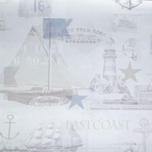 New England inspirerad tapet från kollektionen Hav & Land 49280. Klicka för att se fler #inspirerande #tapeter för ditt hem!