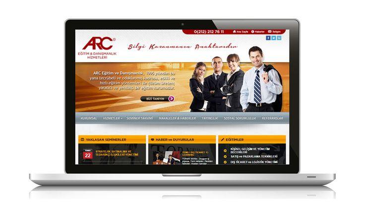 Bilgi ve yaratıcılığa dayalı etkin çözümler geliştiren ARC Eğitim & Danışmanlık web sitesi yayında www.arc.com.tr