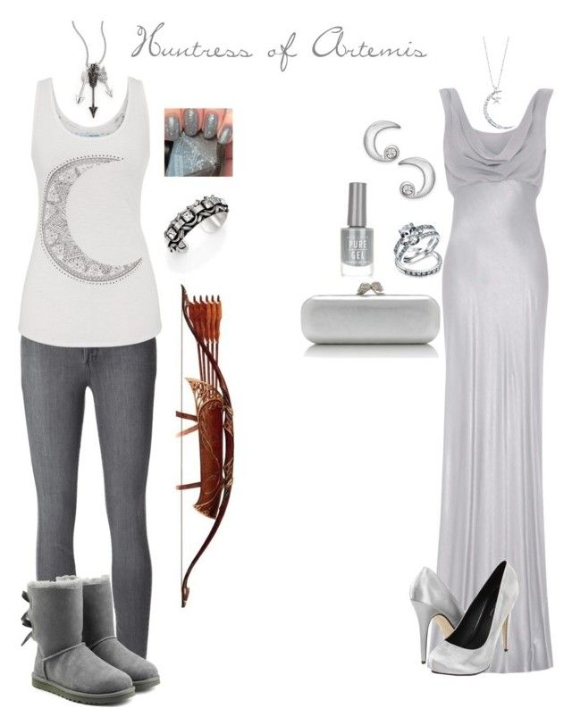 """""""Huntress of Artemis"""" by dylanwalker-i on Polyvore featuring Jade Jagger, Ghost, Michael Antonio, Bling Jewelry, Alexander McQueen, Paige Denim, maurices, Kate Spade, DANNIJO and UGG Australia"""