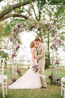 Romantismo • casamento ao ar livre • amor