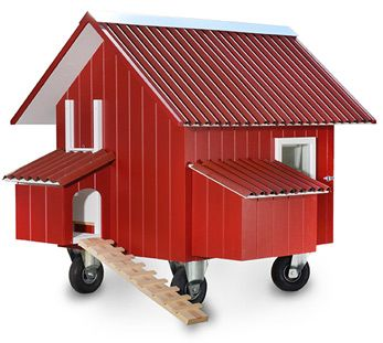 Hühnerhaus Mobil - Hühnerhaus