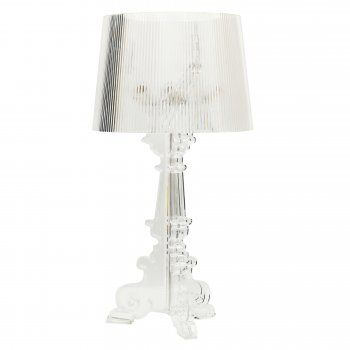 Transparent Bourgie Style Lamp | Cult UK