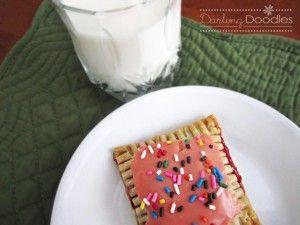 Homemade Pop Tarts - so easy!