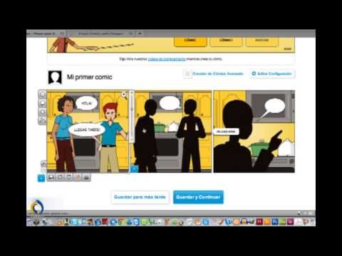 Aprenda a usar Pixton con nuestro vídeo tutorial y cree sus propios cómics…