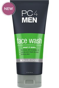 PC4Men Face Wash #paulaschoice #fragrancefreeproducts #crueltyfreeproducts