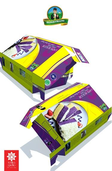 Lapis Bogor Sangkuriang Packaging