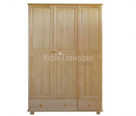 Szafa drewniana sosnowa [7] Meble Drewniane - meble sosnowe producent, łóżka, komody, witryny