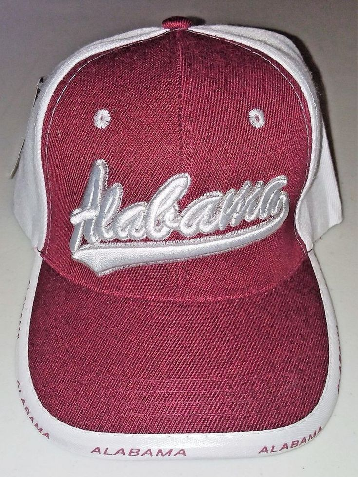 Alabama Hat Trucker Cap Burgundy & White #TruckerHat