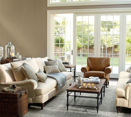 Carlisle Upholstered Sofa | Pottery Barn