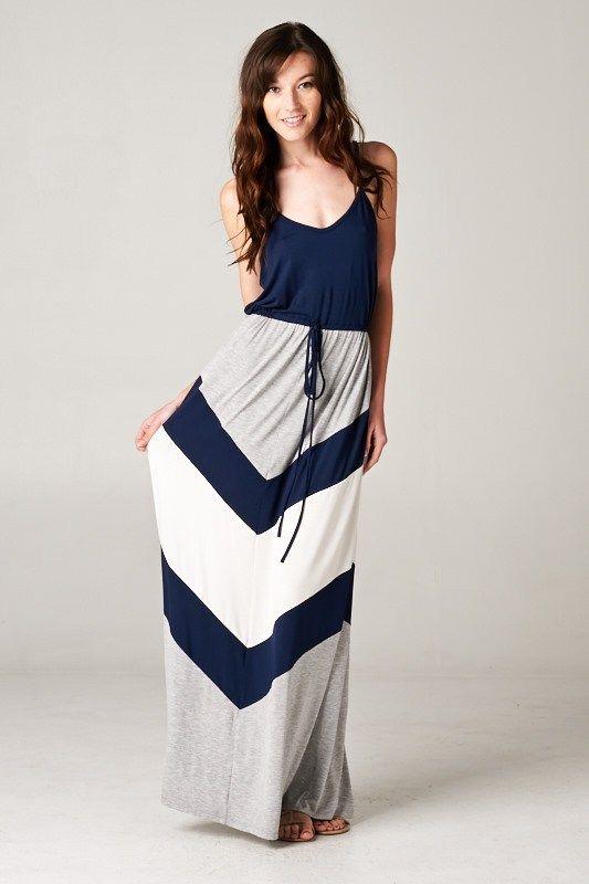 Chevron Audrey Dress | Awesome Selection of Chic Fashion Jewelry | Emma Stine Limited