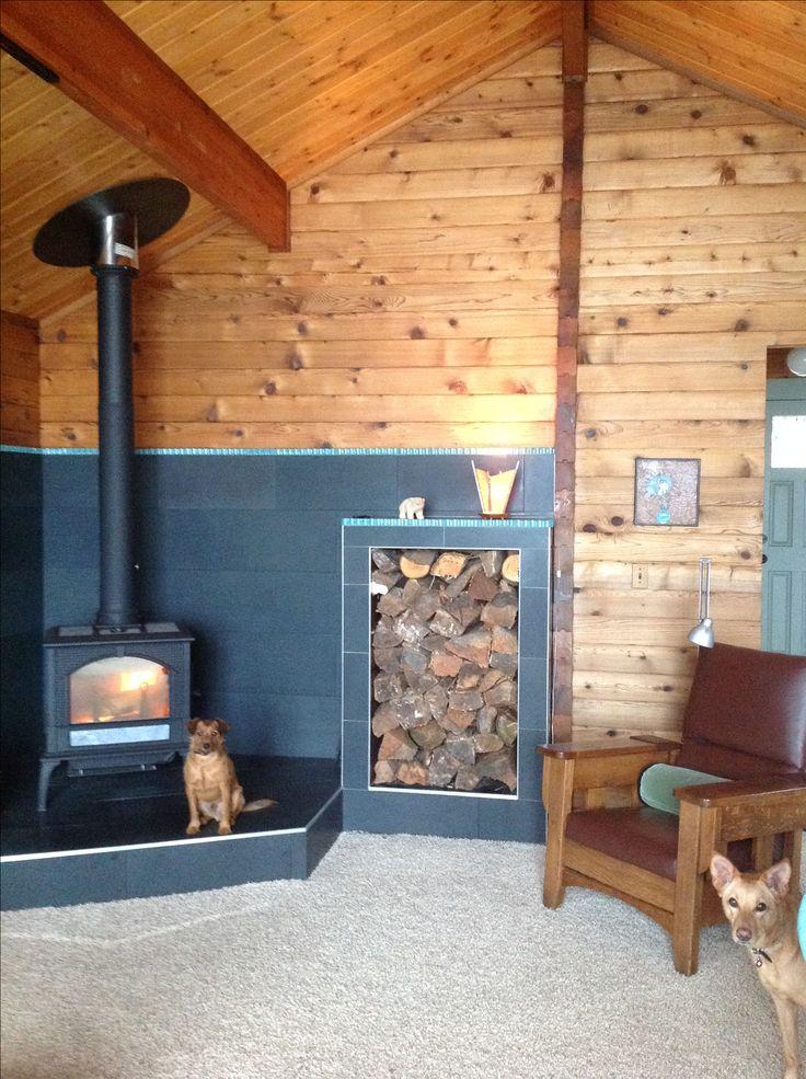 17 Best Ideas About Wood Stove Surround On Pinterest