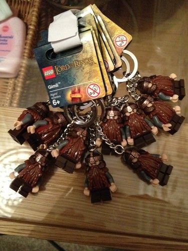 lego key rings x 10 party bag Lord Of The Rings | eBay