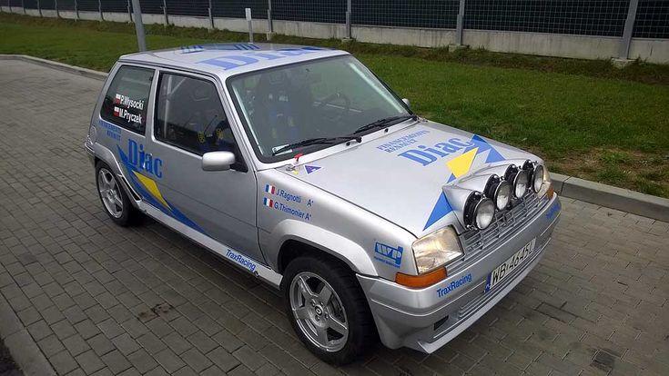 Oklejanie samochodów rajdowych Renault 5