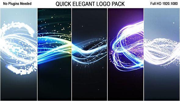 Quick Elegant Logo Pack (5 in 1)