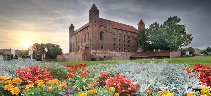Anger Castle, Gniew, Pomorskie province, Poland.