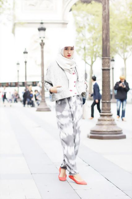 still fashionable with hijab!