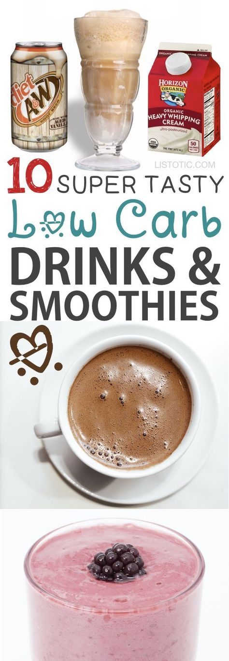 Low Carb Keto drinks, smoothies and snack recipes! Atkins and diabetic friendly. These are all easy with little ingredients! Listotic.com