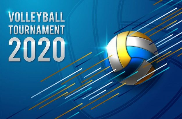 Volleyball Tournament Poster Template Design In 2020 Poster Template Design Volleyball Tournaments Volleyball