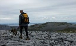 VIEW OUT OVER GALWAY BAY with Adventure Burren #walking #explore #ireland #ecotourism #ecotravel