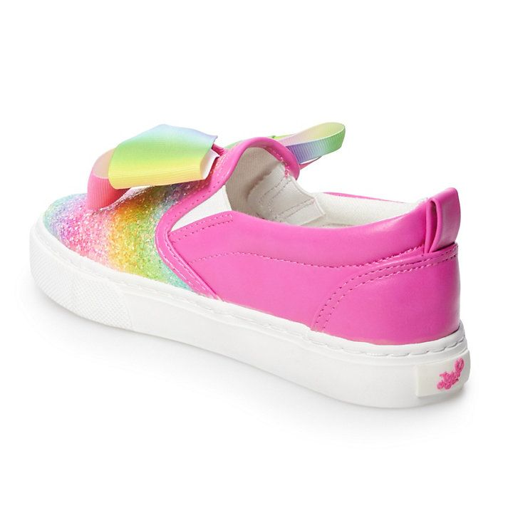 JoJo Siwa Rainbow Girls' Sneakers in