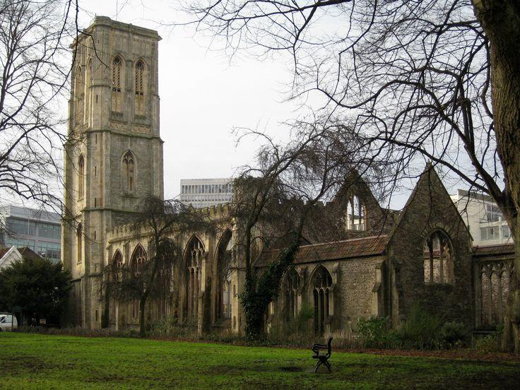 Temple Church - Bristol, England