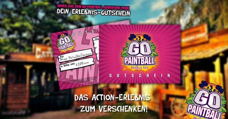 Verschenke ein aufregendes Paintball-Erlebnis mit dem Gutschein vom GO PAINTBALL ADVENTURE PARK! Name des zu Beschenkenden online eintragen, gewünschten Betrag auswählen und los geht es.  Der Gutschein kann zu jedem Betrag online bestellt werden. Ganz einfach, schnell und unkompliziert unter diesem Link: www.go-paintball.   #adventurepark #bachelorparty #berlin #bestoftheday #birthdayparty #brandenburg #dyepaintball #follow #followme #freizeitpark #friends #fun #gisportz #g