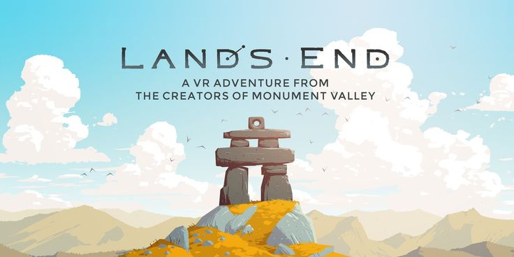 Land's End, the latest game from the award-winning designers of Monument Valley, sees ustwo games explore VR with an adventure through spectacular landscapes...