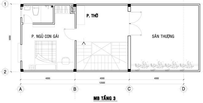 17 best Nhà Phố 3 Tầng 80m2 Đẹp Chỉ Với 1,2 Tỷ Tại Bình Tân images - plan maison plain pied 80m2