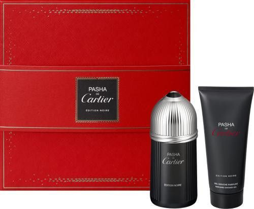 Cartier Pasha Noir 2 Pcs Set: 5 Oz Edt Sp