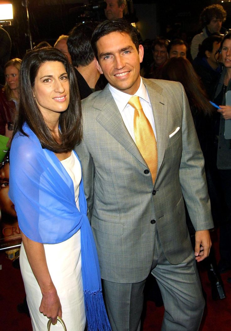 Jim Caviezel with beautiful, Wife Kerri Caviezel