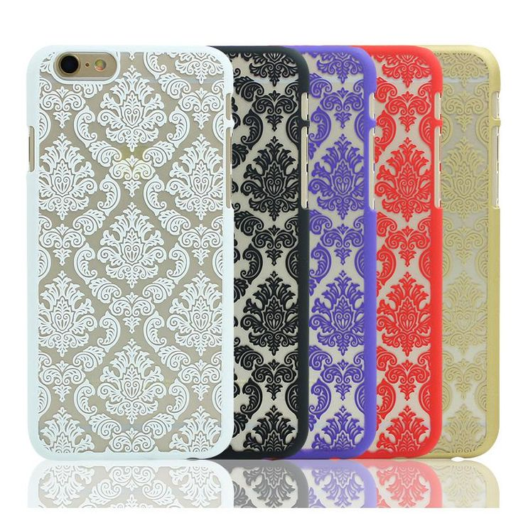 Vintage Flower Pattern Brand Coque Phone Case for iPhone 7 5 5s SE 4 4s 6 6s 7 Plus Cases Luxury Phone Back Cover Fundas Capa