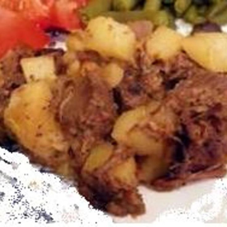 This was often served on Monday for supper after we had roast beef for Sunday dinner. Mom would extend it with more potatoes if there was not a lot of beef left.