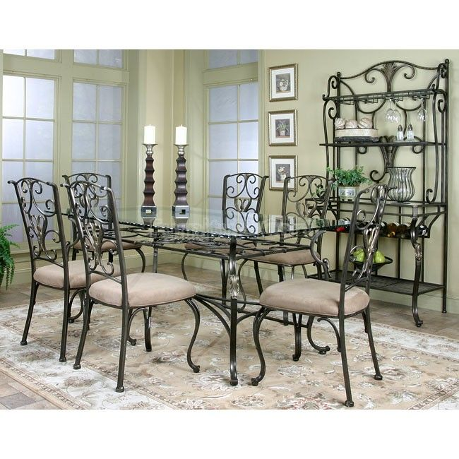 Rooms To Go Dining Room Set: Wescot Rectangular Dining Room Set In 2019