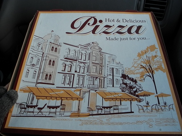 Another pizza neighborhood. Cute!