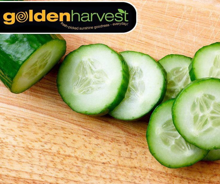 #TuesdayTip: Do you have a hard time drinking your eight glasses of water per day? Try eating more cucumbers, they are made up of 95% water. Pop in at your nearest #GoldenHarvest store and stock up on our fresh cucumbers.