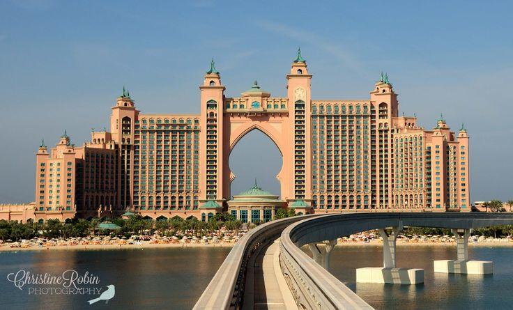 The Atlantis Hotel on Palm Island, Dubai. © Christine Robin Photography #atlantis #hotel #palm #island #dubai #mydubai #christinerobinphotography