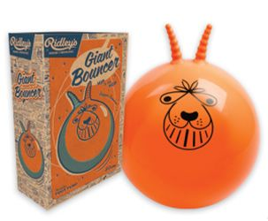Original 1960s space hopper with box