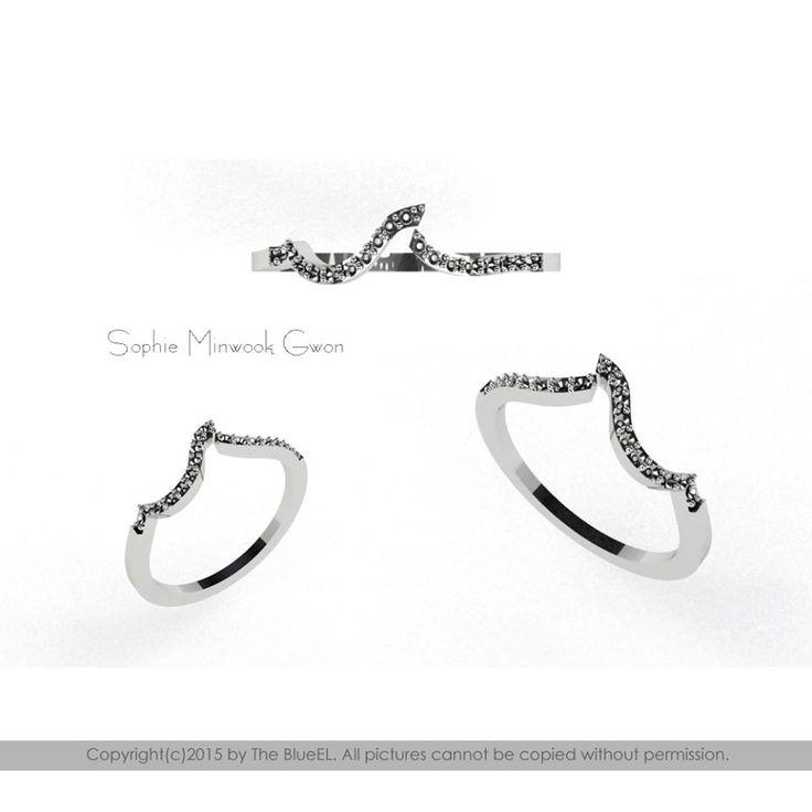 Sophie Minwook Gwon  Diamond Ring, Wedding Ring, Daily Ring