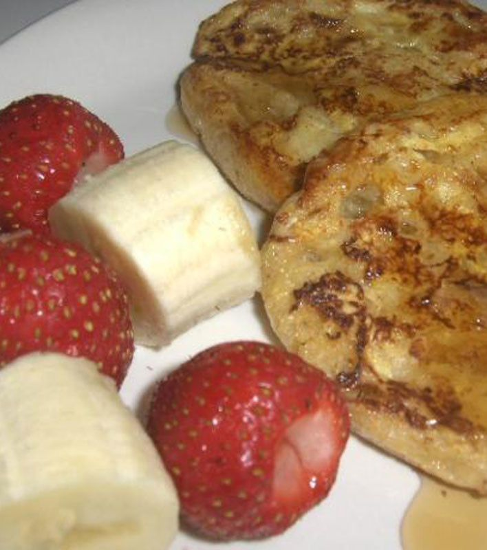 English Muffin French Toast | Breakfast | Pinterest