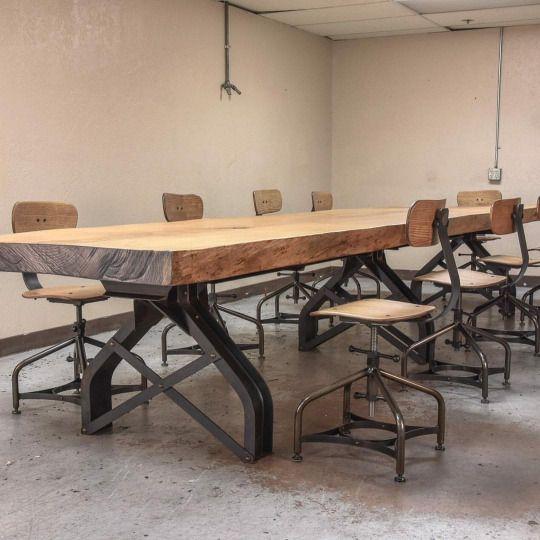 Vintage Industrial Furniture Design