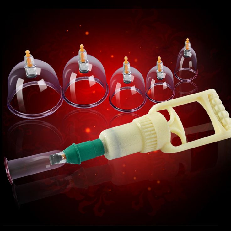 12 PCS/set HOT Traditional Chinese Medical Cup Therapy Jar Household Vacuum Suction Cupping Pulling Cylinder Formula