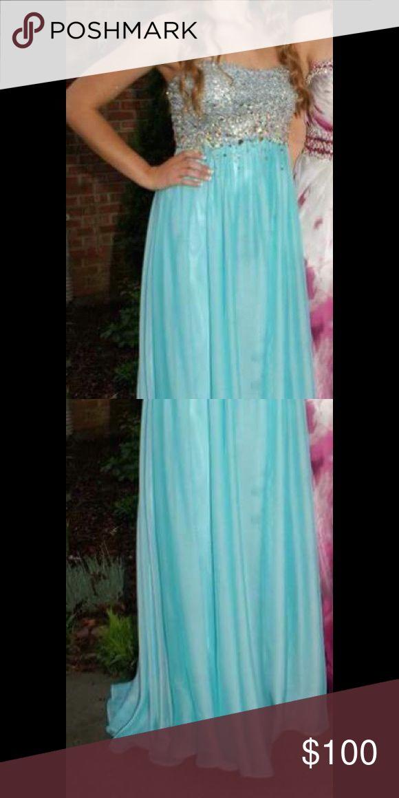 La femme prom dress Beautiful strapless prom dress! La Femme Dresses Prom